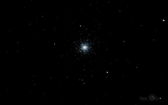 M3 - Globular Cluster in Canes Venatici. Carretero, Puebla, México. 13 de marzo de 2021, 00:13 hrs. f/0 13 sec ISO-6400 Celestron Advanced VX 9.25