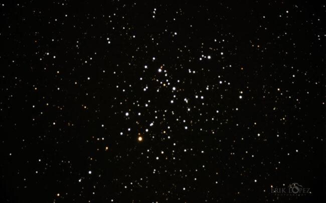 M6 - The Butterfly Cluster. Carretero, Puebla, México. 13 de marzo de 2021, 04:10 hrs. f/0 13 sec ISO-12800 Celestron Advanced VX 9.25