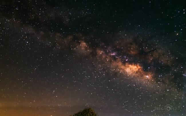 The Milky Way. Carretero, Puebla, México. 14 de marzo de 2021, 05:27 hrs. f/8 30 sec ISO-3200 Nikon D850